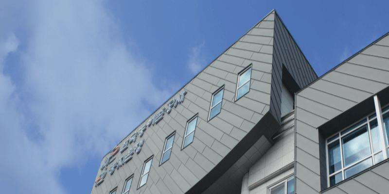 junta alzada en ángulo joint debout pour façade angle standing seam