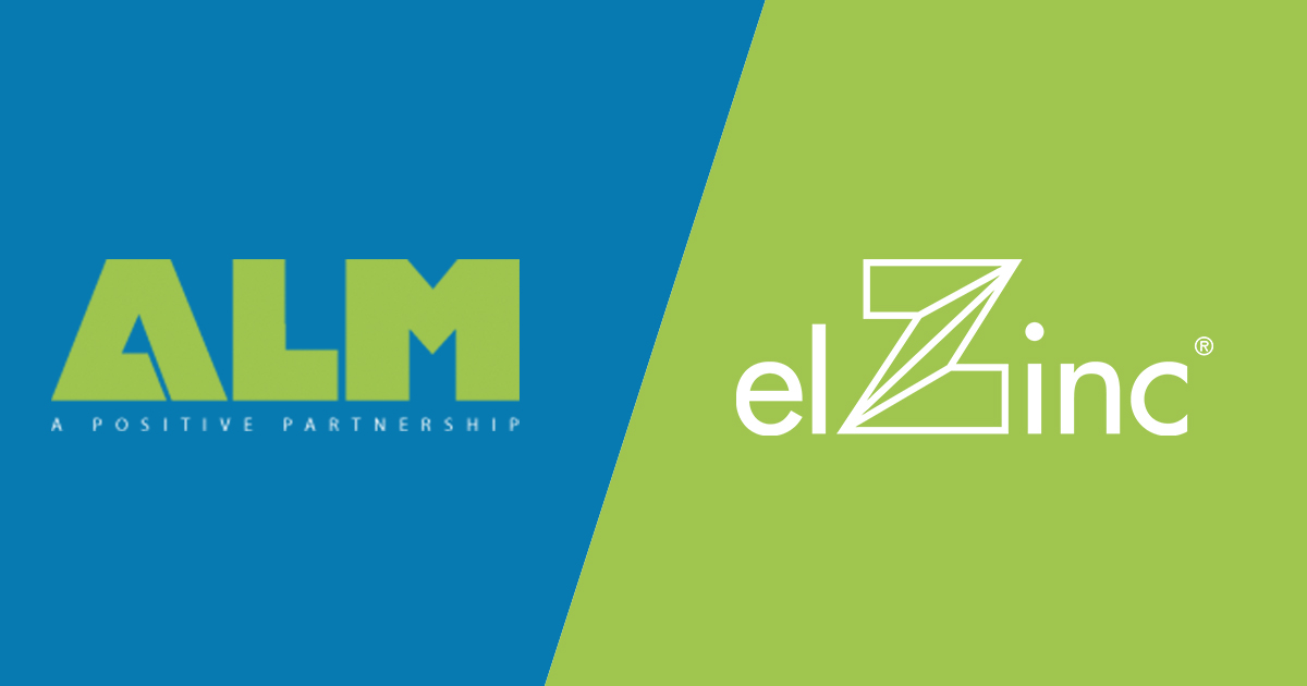 elZinc and ALM HM announce a new distribution  partnership in the UK and Ireland
